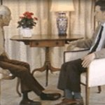 David Bohm and Jiddu Krishnamurti in conversation at Brockwood Park, England, 1983