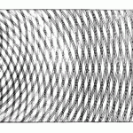 Wave diffraction illustration by Thomas Young