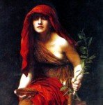 """Priestess of Delphi"" by John Collier (1891)"