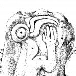 Rapa Nui Tangata Manu Bird-Man Petroglyph, Orongo, Easter Island