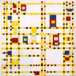 """Broadway Boogie Woogie"" by Piet Mondrian (1942-1943), oil on canvas, available at The Museum of Modern Art, New York"