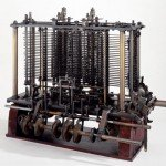 Charles Babbage's Analytical Engine (portion of mill with printing mechanism)