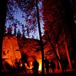 Camp Fire in Glen Aulin (October 14, 2005) by Jason Rust