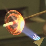Crafting a glass bead
