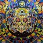 Paintings by Cosmocto (Sala Diaz, San Antonio, Texas: May 21, 2010)