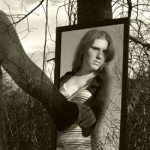 """""""Mirror Reflection of Woman Outdoors"""" by Jessica Harp (June 17, 2009)"""
