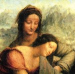 """""""The Virgin and Child with St. Anne"""" by Leonardo da Vinci (Florence, Italy: ~1508)"""
