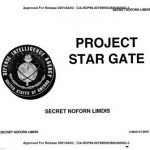 Cover sheet for a declassified report from the United States Defense Intelligence Agency's Project Star Gate