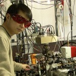 Chin-Wen (James) Chou and his team's quantum logic clock (Boulder, Colorado: National Institute of Standards and Technology, 2010).