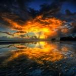 Sunrise (Nudgee Beach, Queensland, Australia)