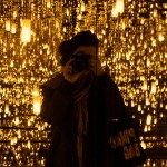 """Aftermath of Obliteration of Eternity"" by Yayoi Kusama (New York: Gagosian Gallery, April 16 - June 27, 2009)"