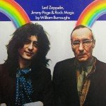 Jimmy Page and Williams S. Burroughs with rainbows in Crawdaddy Magazine (New York: Crawdaddy Publishing Company, June 1975)