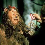 Bert Lahr as The Cowardly Lion in The Wizard of Oz (1939)