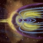 The Sun, the Earth, and a magnetosphere